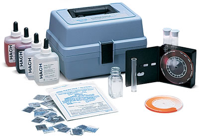 HA62A - Professional Hardness Iron and pH Test Kit